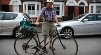 Cyclist buys locks after stolen vintage bike is returned