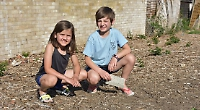 Girl, seven, asks Mayor to help clean up messy patch