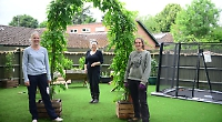 Garden for disabled young people being transformed