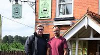 Restaurant pair take over closed pub half-mile away