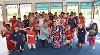 Pupils given taste of Japan with words, games and food