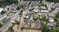 German twin town escapes worst of flooding disaster