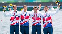 Leander rowers scoop silver at Tokyo