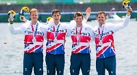 Silver lining for rowers