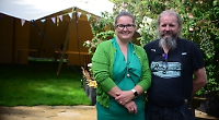 Couple convert former pub into cafe and craft space