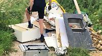Rubbish dumped on Ridgeway