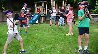 Families delighted by return of playscheme