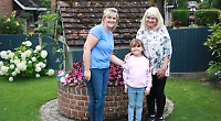 Sisters come first and second in front garden contest