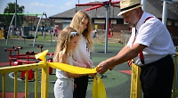 Play area re-opened in memory of tragic teenager after £250,000 makeover