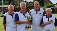 Caversham's senior four secure Berkshire title