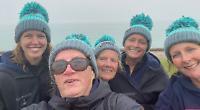Mermaids (minus one) in second attempt to swim Bristol Channel