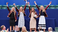 Schoolgirls make history at post-covid regatta