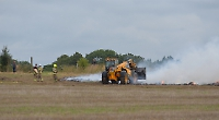 Field blaze thought to be arson attack