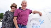 Couple's final flight from aerodrome after 33 years