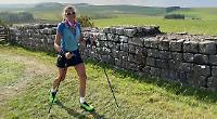 Woman, 51, sets ultra run record despite leg injury