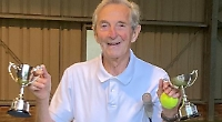 I am a double Wimbledon champion at the age of 86