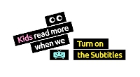 How television subtitles can help children to read