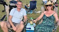 Hundreds attend village's 'post-covid celebration'