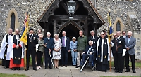Service celebrates centenary of Royal British Legion