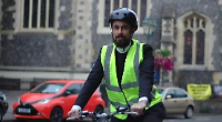 Cycling rector raises money for churches with swift ride