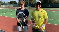 Harrison cruises to singles title with straight sets win, losing just one game