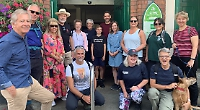 Walkers raise £500 for charity on 25th anniversary