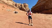 Men complete 250km desert run in 39c heat for charities