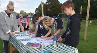 Children help choose new equipment for playground