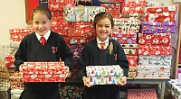 Pupils spread Christmas joy around the world