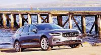 Volvo V90 scoops Scottish Car of the Year award