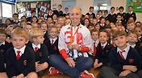Paralympic champion tells pupils how she enjoys winning