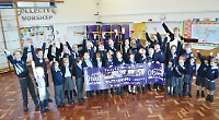 School rated outstanding in every category by inspector