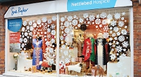 Paper snowflakes are winner for charity shop