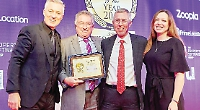 Golden moment as agents win South East award