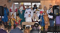 Sister act! Girls step into the starring roles of Nativity play at eleventh hour