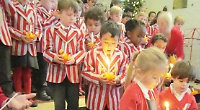 Caversham Preparatory School annual Christingle service