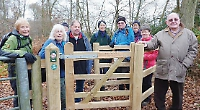 Replaced Gate on the Chiltern Way