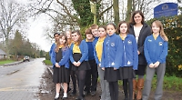 School raises £10,000 for lollipop lady and road signs