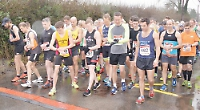 File picture of last year's Woodcote 10km race.