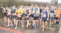 Teenager leads the way at wet and windy village 10km