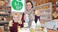 Mother goes natural with business inspired by son