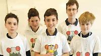 Pupils win robot prize