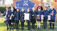 Pupils thrilled by thank-you letter from palace