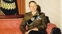 Col Phillip King OBE, who served in the army for 36 years