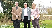 Visitors flock to snowdrop celebration day at village church
