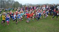 Start of the HYF fun run