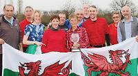 Welsh team battle hard to secure home international title