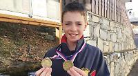 Proctor wins bronze on Swiss slopes