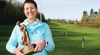 'As I was recovering from breast cancer, the thought of being able to play golf again kept me going'