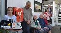 Pump firm donates 54th defibrillator to Millie's Dream
